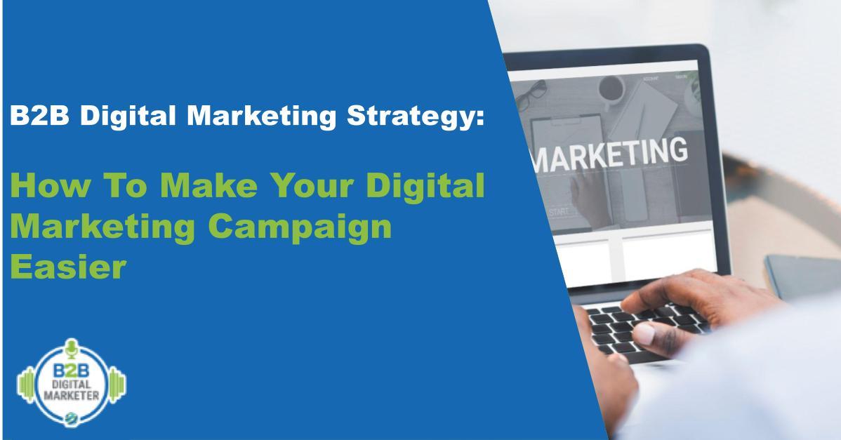 B2B Digital Marketing Strategy Feature image