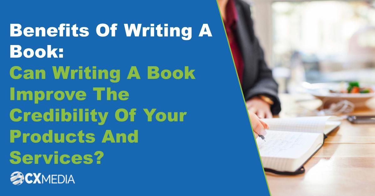 Benefits of writing a book feature image