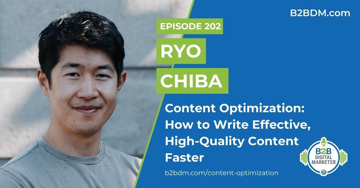 Content Optimization - Ryo Chiba