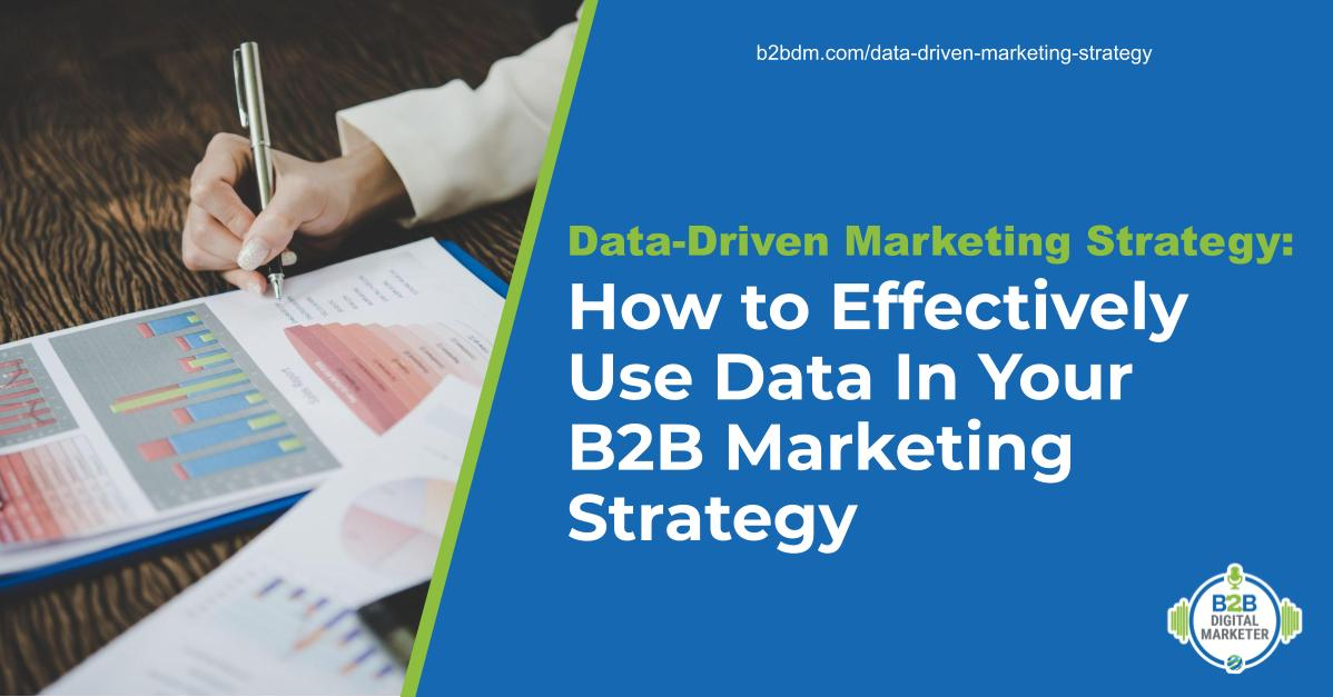 Data-driven marketing strategy feature image