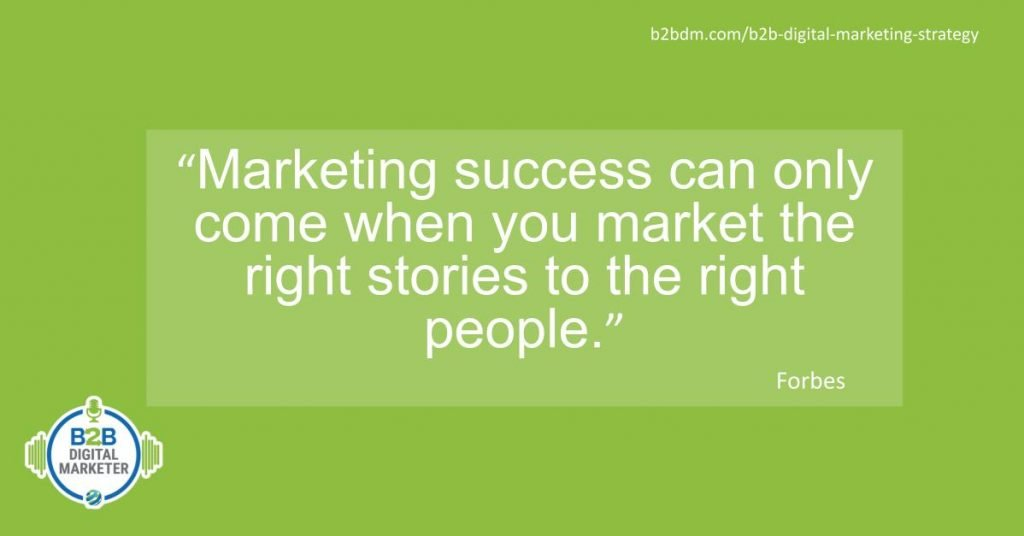 B2B Digital marketing advice quote