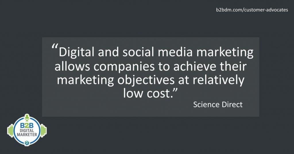 Digital media and social media marketing fact