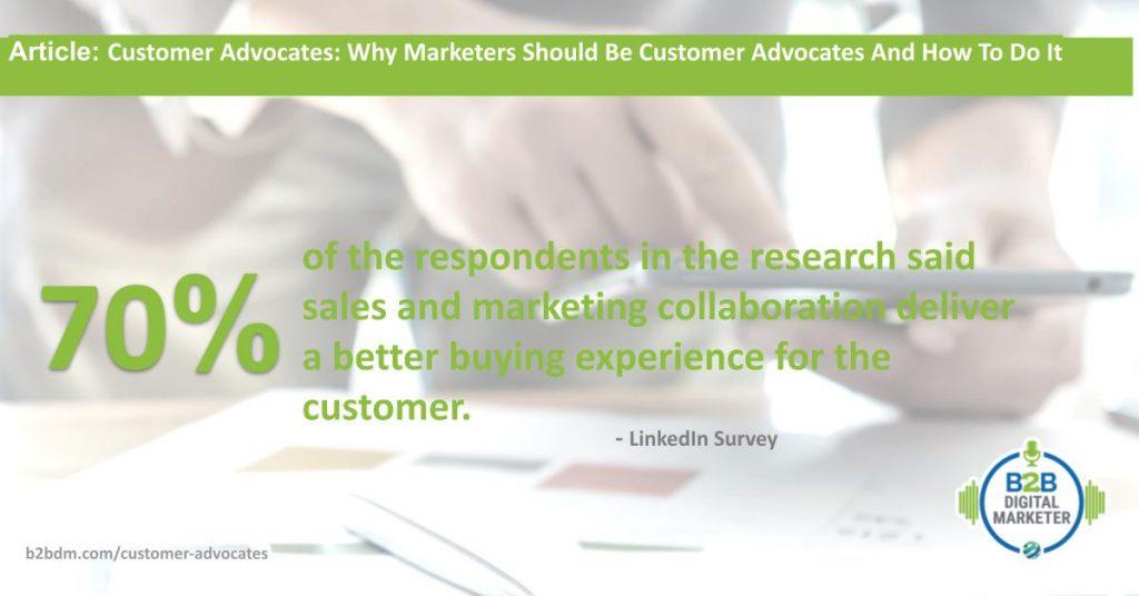 Sales and Marketing Collaboration Statistics