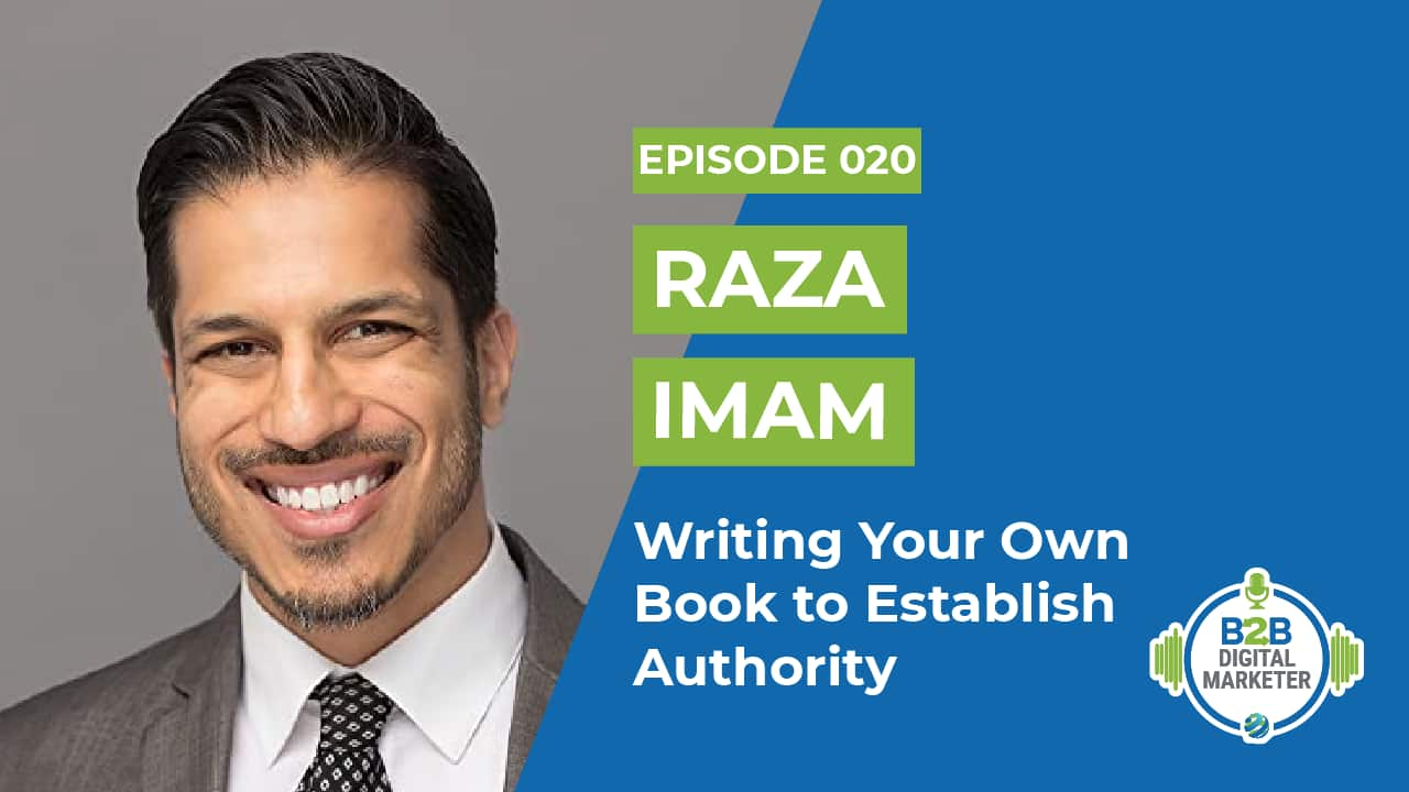 Writing your own book to establish authority